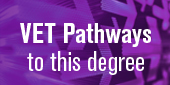 VET pathways to this degree