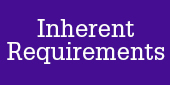 View the Inherent Requirements for this degree